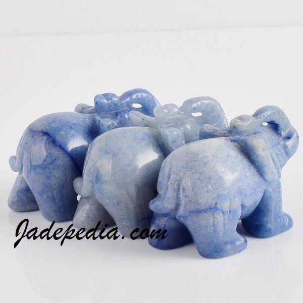 warna batu giok biru