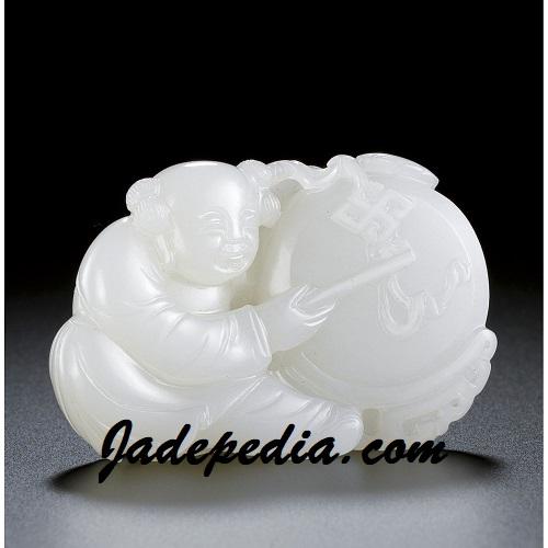 warna batu giok putih